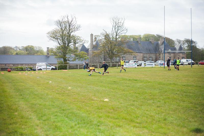 Terrain de rugby Flamanville