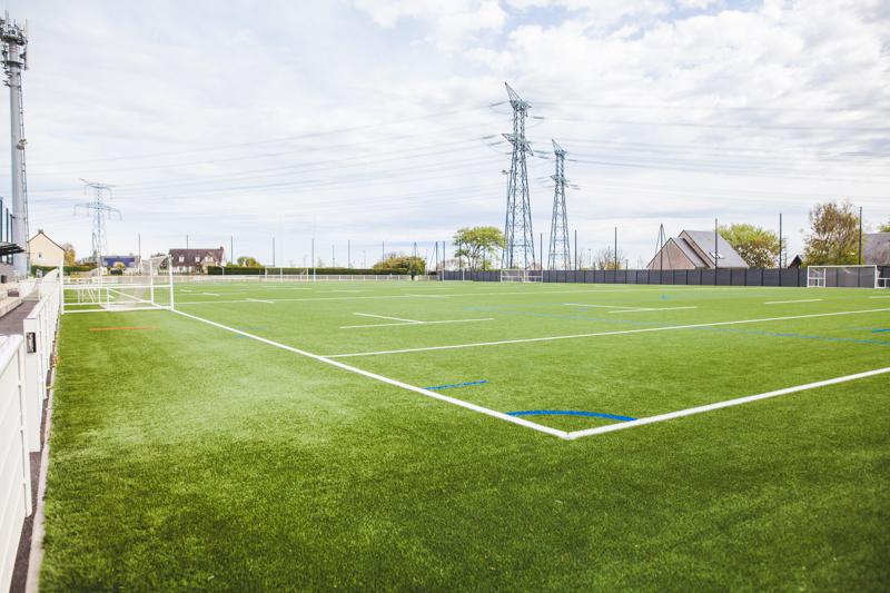 Terrain de football stabilisé Flamanville